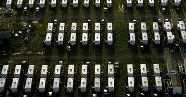 Last Katrina FEMA trailer leaves New Orleans