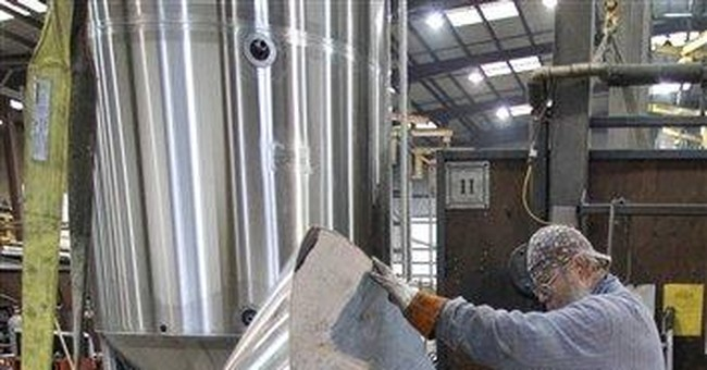 Manufacturers providing outsize boost to economy