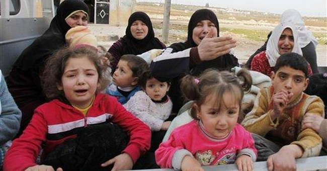 UN sees possible crimes against humanity in Syria