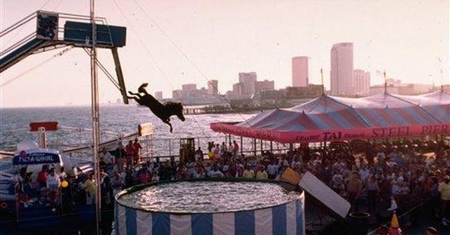 NJ Steel Pier drops plan for Diving Horse's return