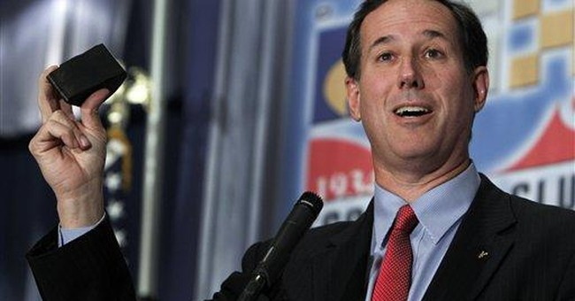Tax records: Santorum rises in wealth since Senate