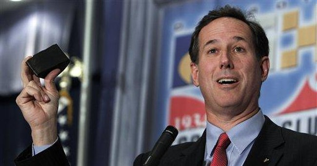 Tax records: Santorum rises in wealth since Senate