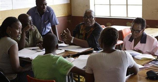 Beloved S.African musician, 60, back at school