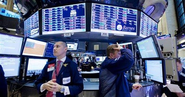 Dow within 100 of 13,000 as stocks barrel higher