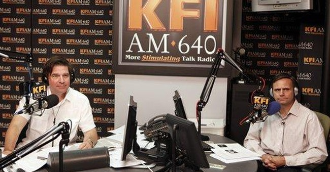 LA radio hosts suspended for Houston comments