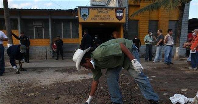 Horror, mercy marked Honduras prison fire