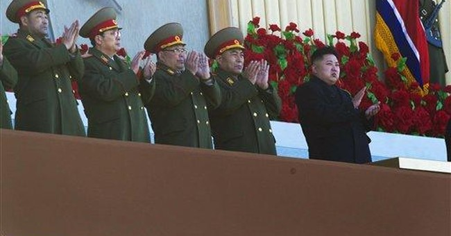 Late NKorean leader gets military birthday tribute