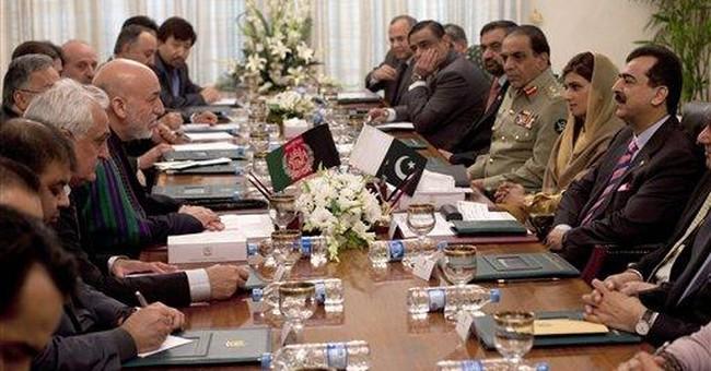 Afghan leader asks for Pakistani help in peace bid