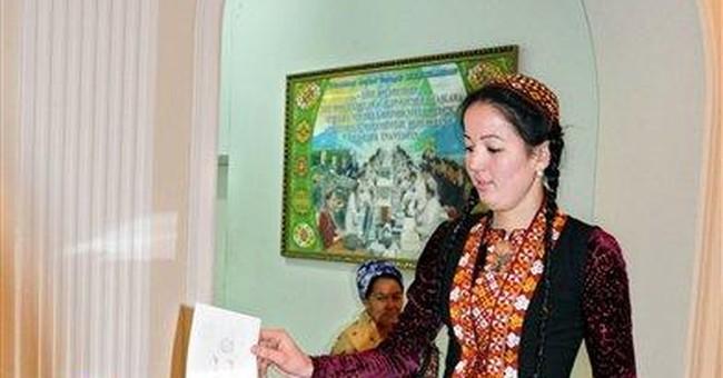 Turkmen authoritarian leader sworn in for new term