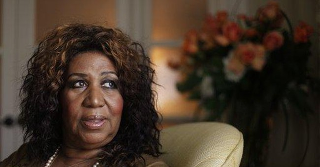 Aretha remembers Whitney at Radio City in NYC