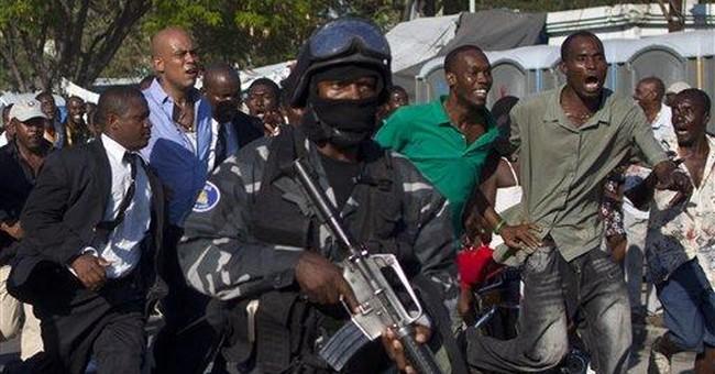 Haiti govt says president attacked while walking