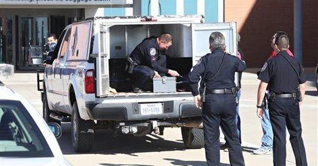 Prosecutors to drop Texas airport explosives case