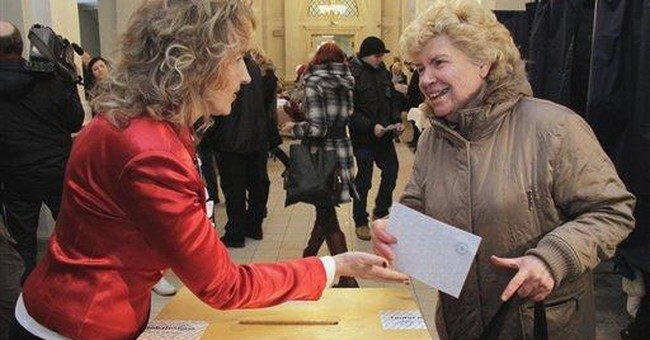 Latvians reject Russian as national language