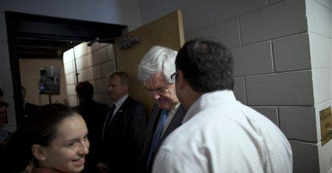 Gingrich: Negative ads have lowered voter turnout