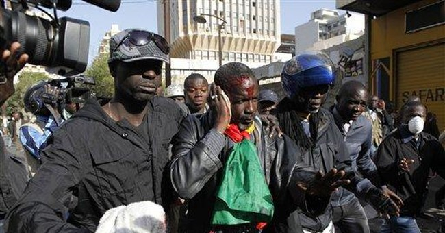 Police in Senegal open fire with tear gas