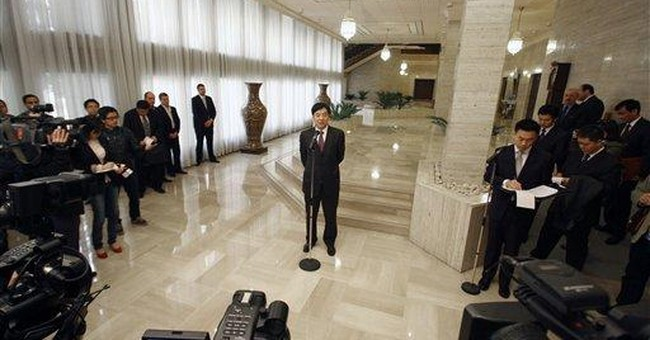 China supports Arab League's proposals for Syria