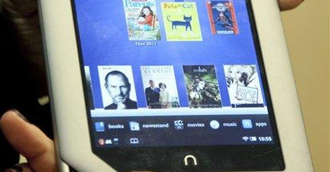Barnes & Noble falls on guidance cut, Nook review