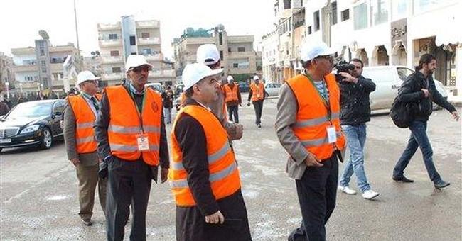 Qatar says Arab monitors in Syria made mistakes