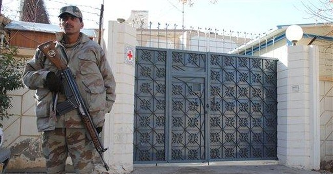 British Red Cross worker kidnapped in Pakistan