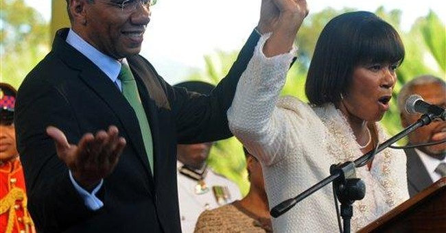 Simpson Miller sworn in 2nd time as Jamaica PM