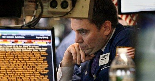 Dow average marks its first (tiny) loss of 2012