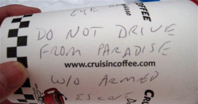 Copter dropped coffee cups to warn Rainier campers