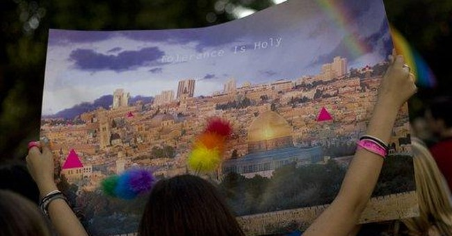 Israel looks to gays to improve its image