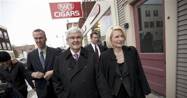 Gingrich blasts Romney's policies as 'timid'