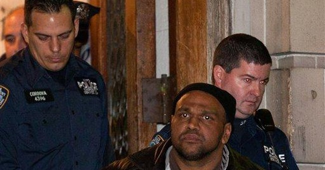 NY arson attacks suspect is arraigned in hospital