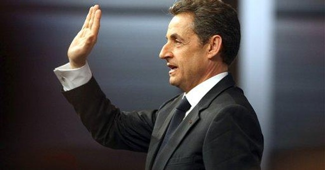 French President Sarkozy: not afraid of record