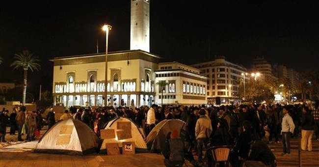 Thousands turnout for Morocco anniversary protests