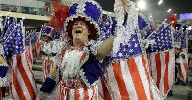 J.Lo, Fergie add star power to Rio Carnival parade