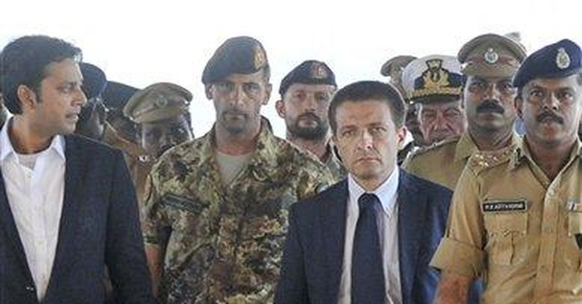 India detains Italians accused in fatal shooting