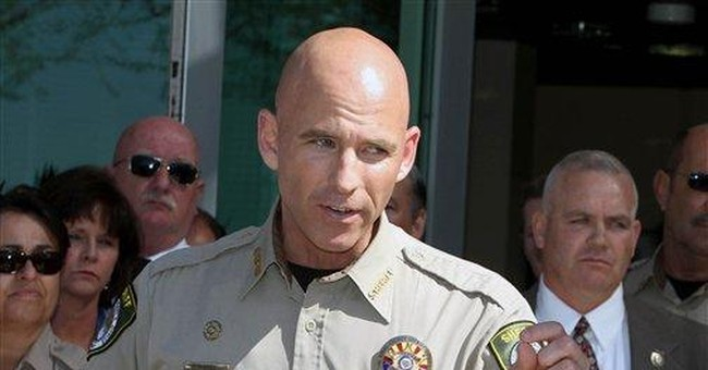 Arizona sheriff facing long odds after gay outing