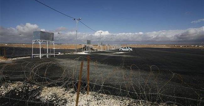 Jordan prepares camp for Syrian refugees
