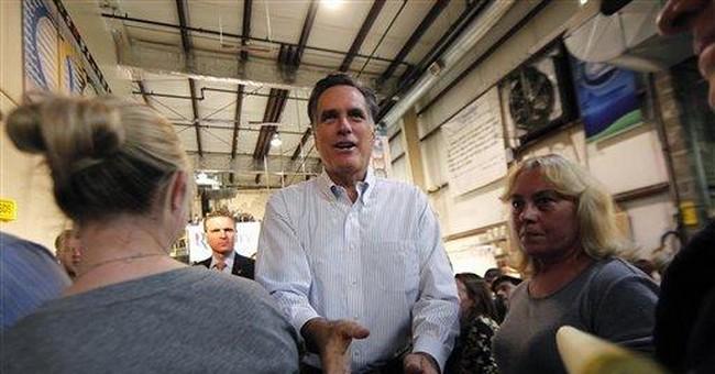 As Santorum seizes social issues, Romney demurs