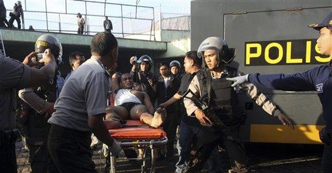 Police restore order at Indonesian resort prison
