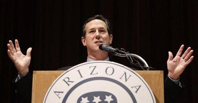 Santorum makes prenatal testing a campaign issue