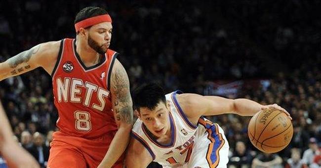 Ties to Knicks' Lin peck at Taiwan bookishness