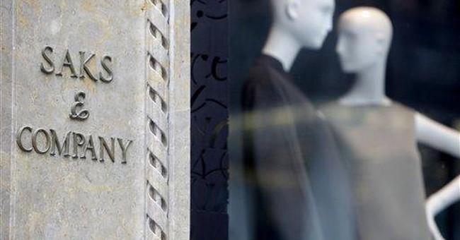 Saks 4Q profit rises on sale of luxury goods