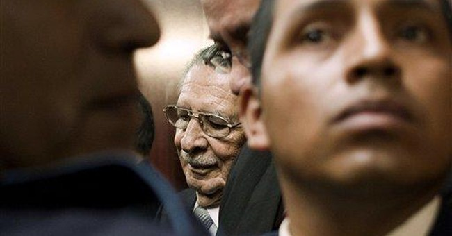 Guatemala judge steps down in ex-dictator's case