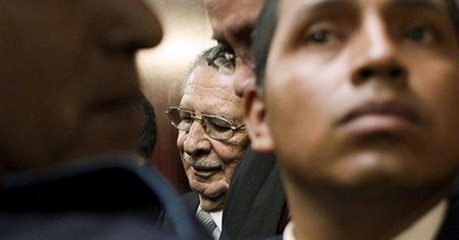 Guatemala judge steps down in ex-dictator's case