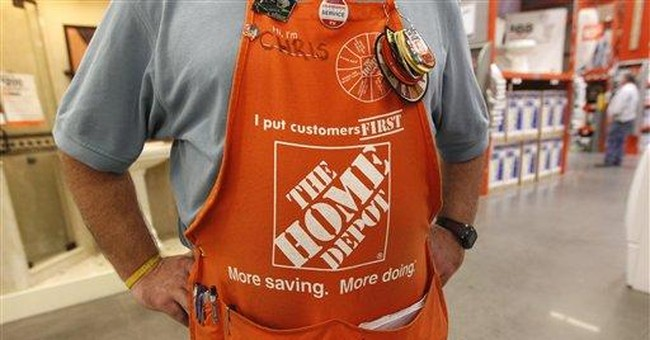 Home Depot 4Q net income climbs on sales spike