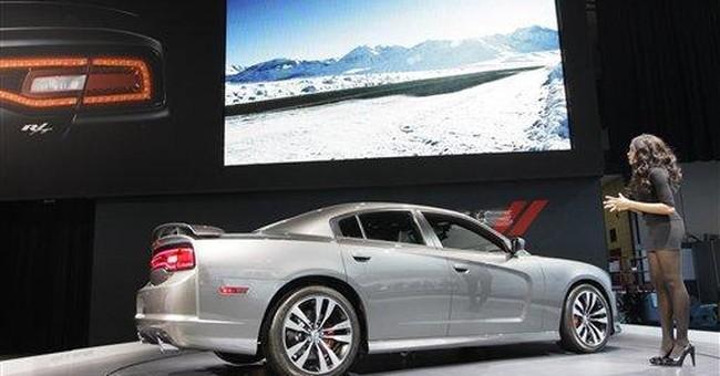 Charger, Dodge's large sedan, impresses