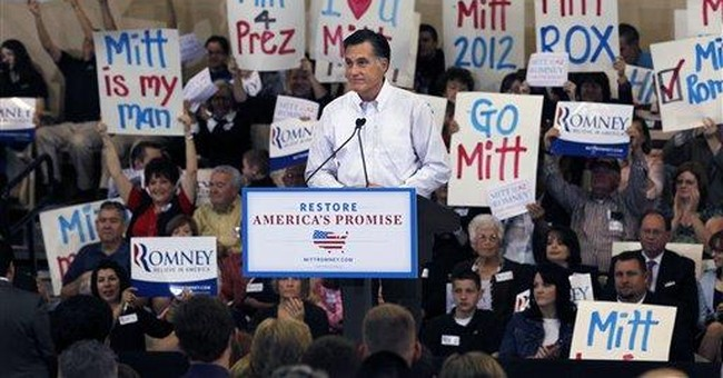 Romney calls for 20 percent income tax cuts