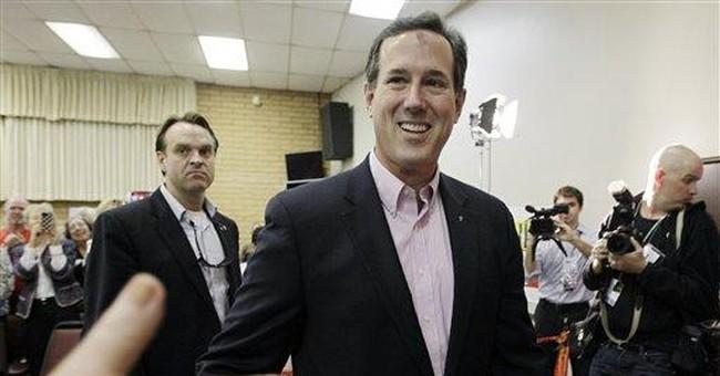 Santorum mocks Romney ahead of Arizona GOP debate