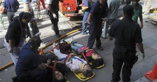 Argentine train slams into station, killing 49