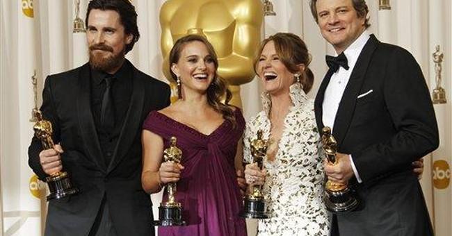 Firth, Portman, Bale, Leo to present at Oscars