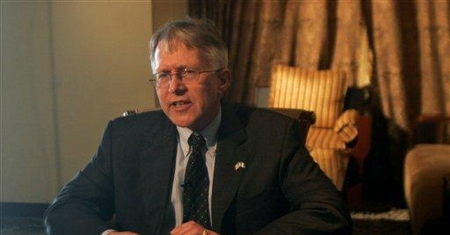 AP Interview: US envoy says no soldiers to Nigeria