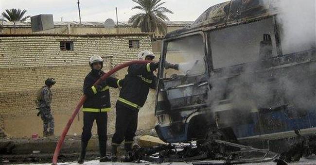 Widespread shootings, bombings kill 55 across Iraq